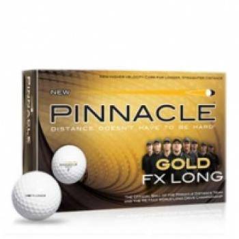Golfové míče Pinnacle Gold FX Long Míče (Uni)