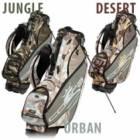 Golfové bagy, vozíky, tašky King Cobra 9in Camo Stand Bag (Uni)